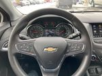 Black[Black] 2019 Chevrolet Cruze LT True North Steering Wheel and Dash Photo in Calgary AB