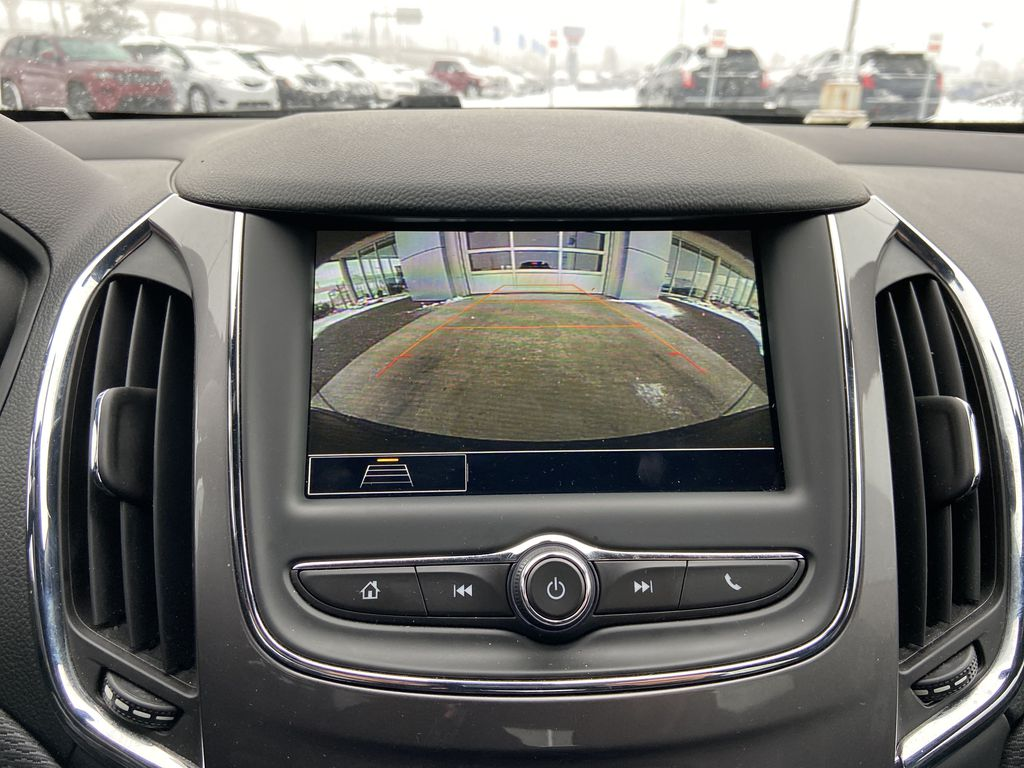 Black[Black] 2019 Chevrolet Cruze Backup Camera Closeup Photo in Calgary AB