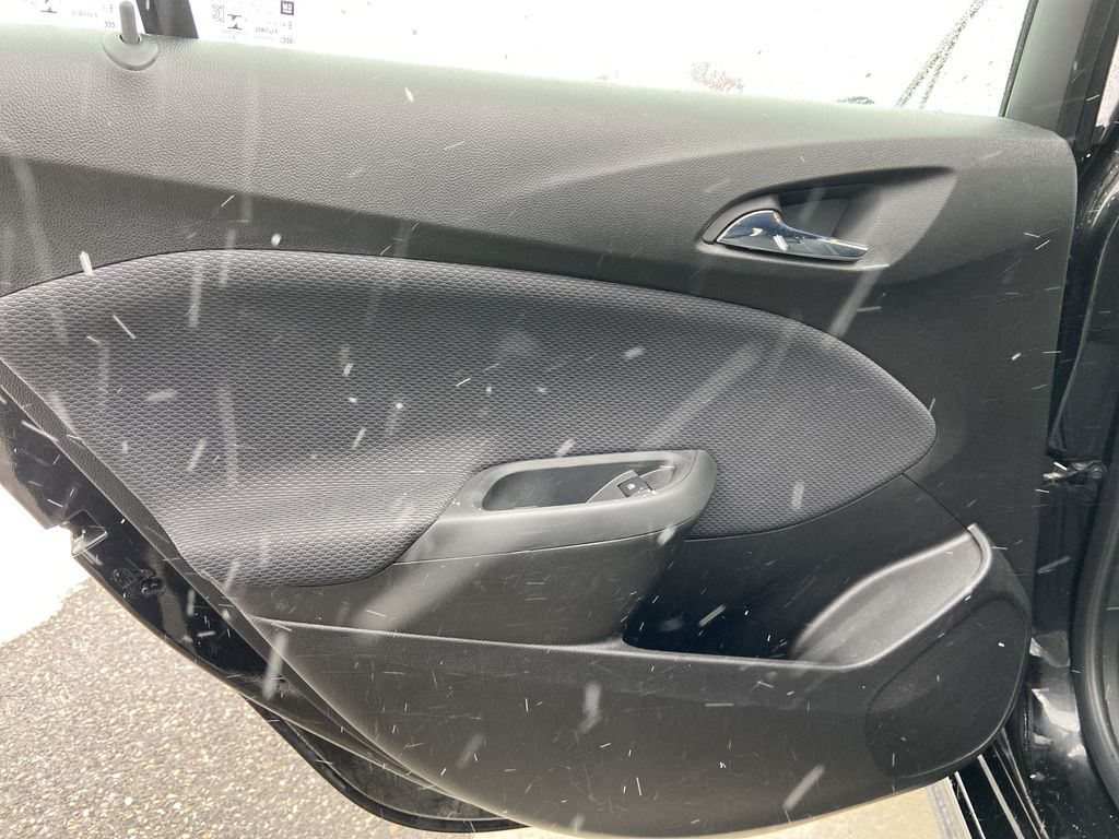 Black[Black] 2019 Chevrolet Cruze Left Rear Interior Door Panel Photo in Calgary AB