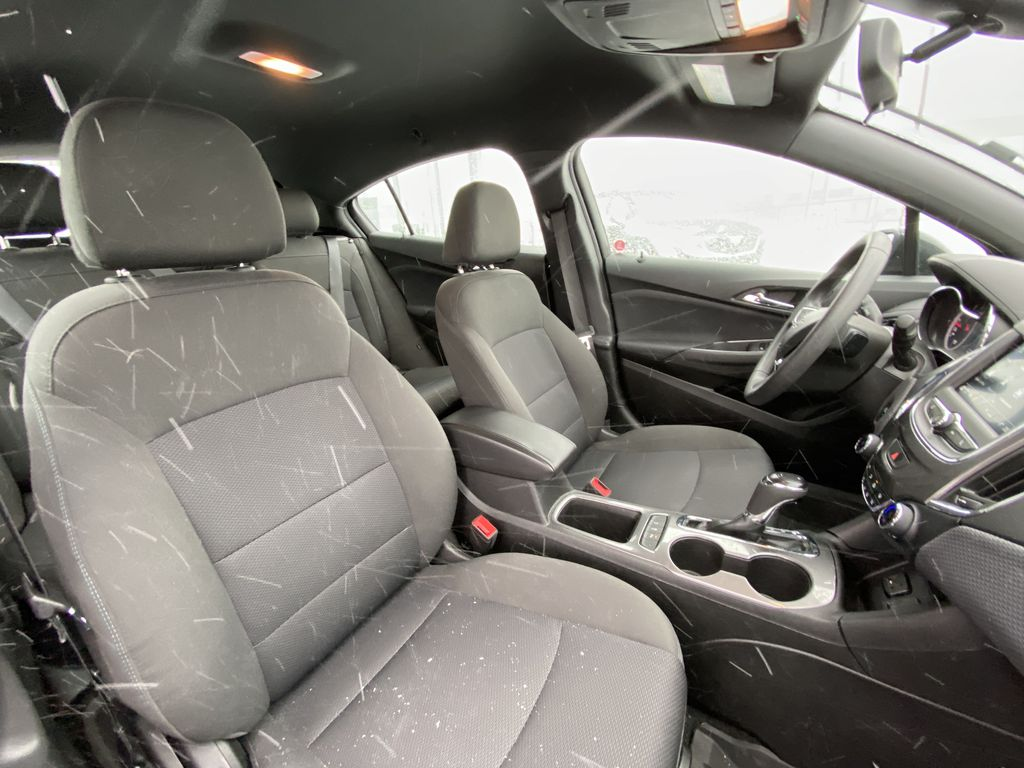 Black[Black] 2019 Chevrolet Cruze Right Side Front Seat  Photo in Calgary AB