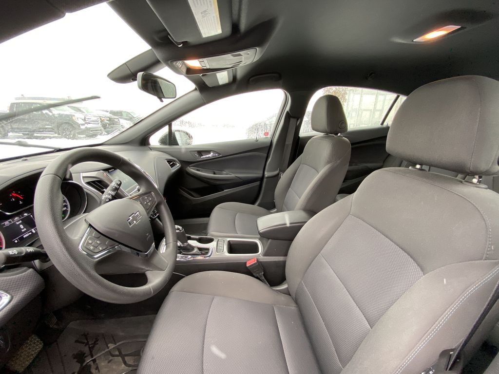 Black[Black] 2019 Chevrolet Cruze Left Front Interior Photo in Calgary AB