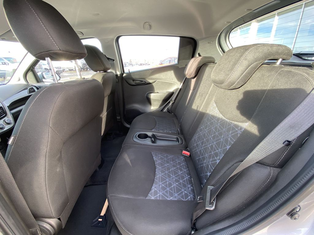 Silver[Silver Ice Metallic] 2019 Chevrolet Spark 1LT Left Side Rear Seat  Photo in Calgary AB