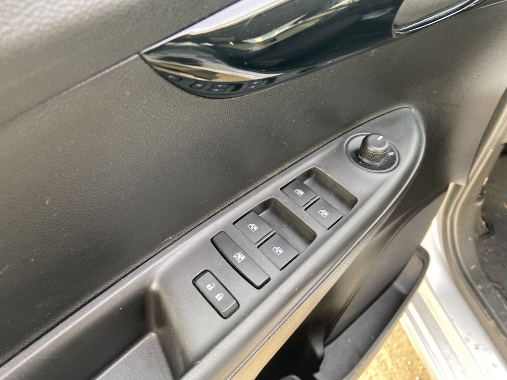 Silver[Silver Ice Metallic] 2019 Chevrolet Spark 1LT  Driver's Side Door Controls Photo in Calgary AB
