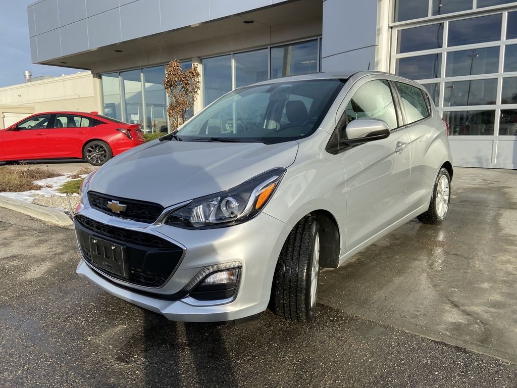 Silver[Silver Ice Metallic] 2019 Chevrolet Spark 1LT Left Front Head Light / Bumper and Grill in Calgary AB