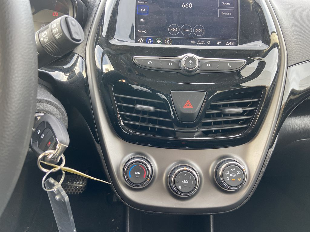 Silver[Silver Ice Metallic] 2019 Chevrolet Spark 1LT Central Dash Options Photo in Calgary AB