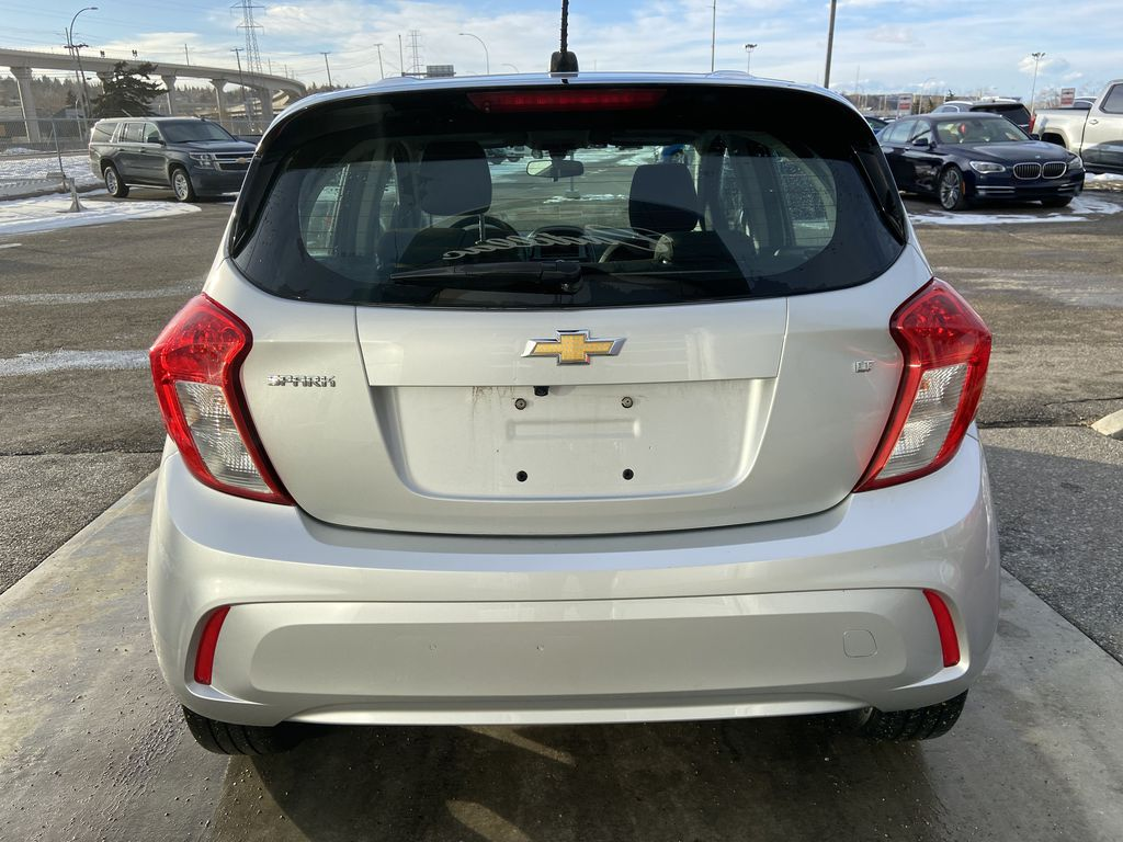 Silver[Silver Ice Metallic] 2019 Chevrolet Spark 1LT Rear of Vehicle Photo in Calgary AB
