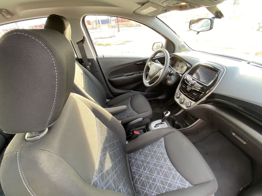 Silver[Silver Ice Metallic] 2019 Chevrolet Spark 1LT Right Side Front Seat  Photo in Calgary AB