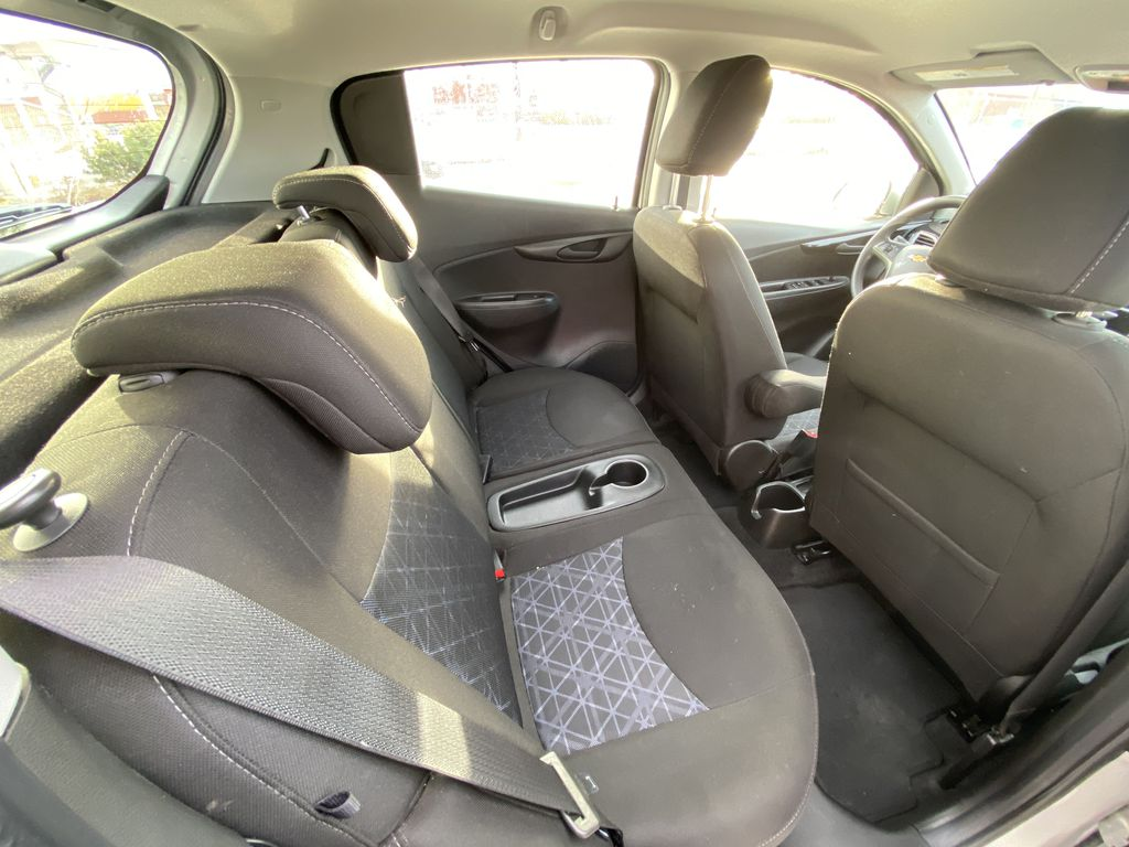 Silver[Silver Ice Metallic] 2019 Chevrolet Spark 1LT Right Side Rear Seat  Photo in Calgary AB
