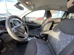 Silver[Silver Ice Metallic] 2019 Chevrolet Spark 1LT Left Front Interior Photo in Calgary AB