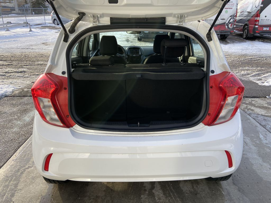 White[Summit White] 2019 Chevrolet Spark Trunk / Cargo Area Photo in Calgary AB