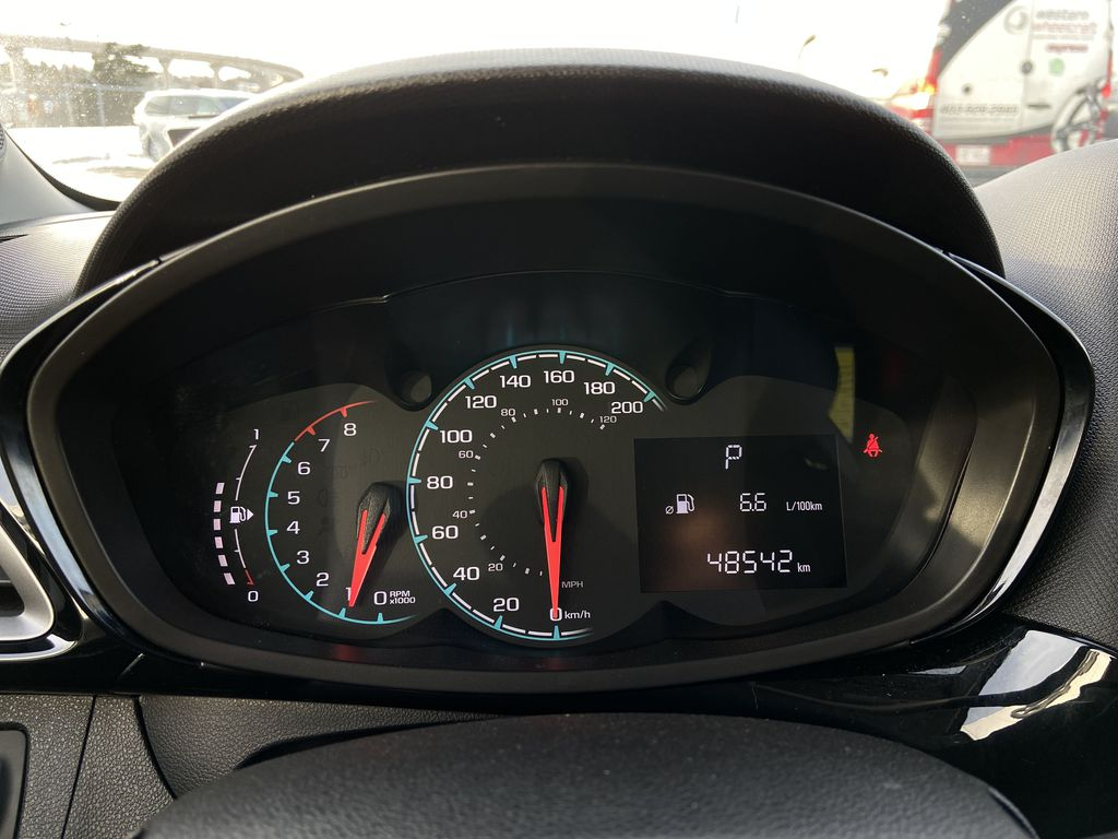 White[Summit White] 2019 Chevrolet Spark Odometer Photo in Calgary AB