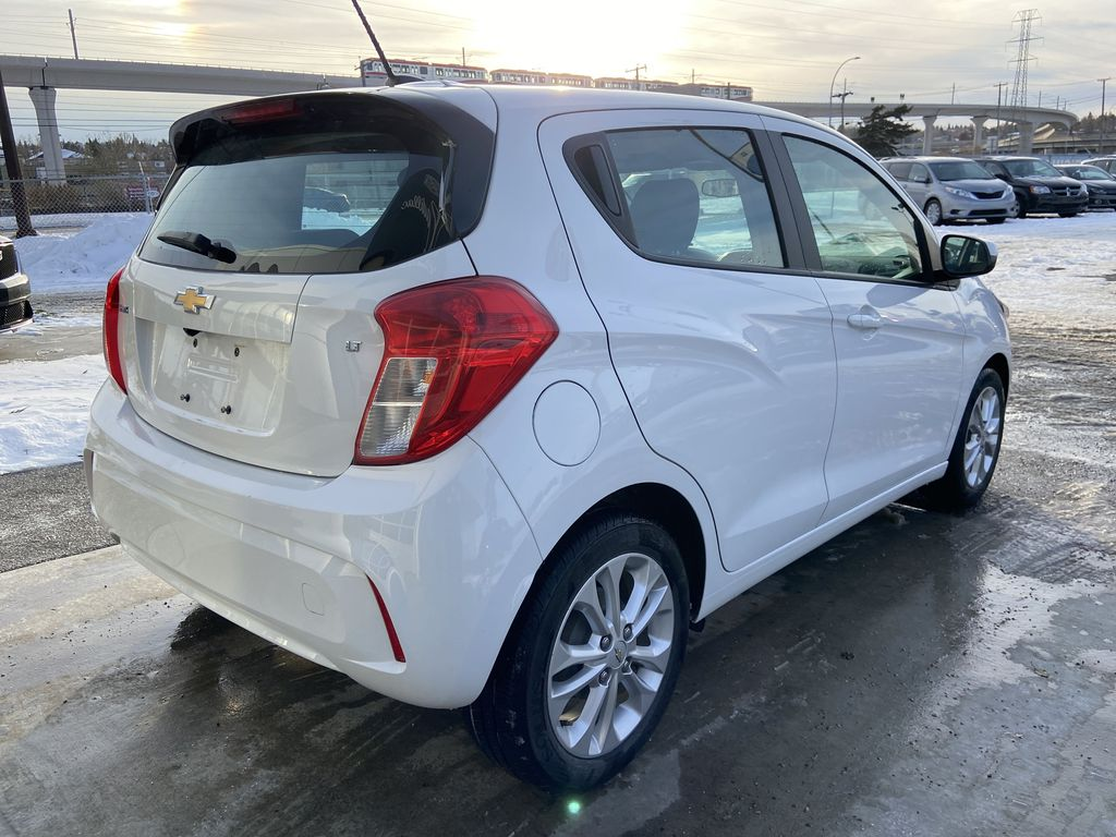 White[Summit White] 2019 Chevrolet Spark Right Rear Corner Photo in Calgary AB