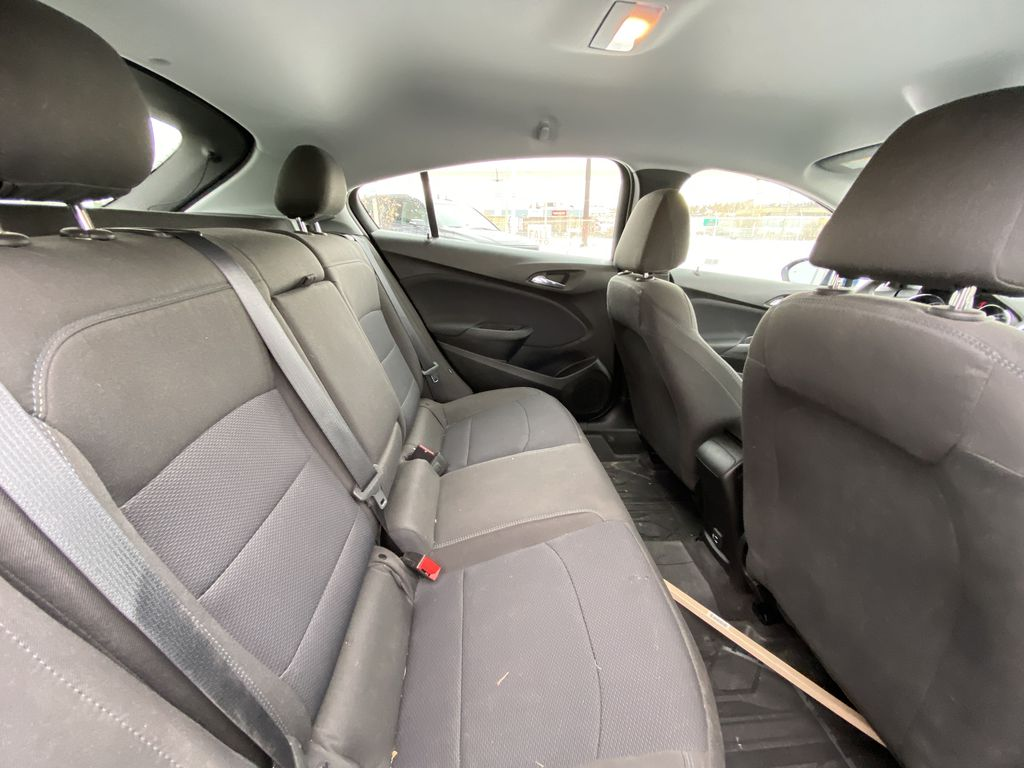 Blue[Kinetic Blue Metallic] 2019 Chevrolet Cruze LT True North Right Side Rear Seat  Photo in Calgary AB