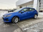 Blue[Kinetic Blue Metallic] 2019 Chevrolet Cruze LT True North Left Front Corner Photo in Calgary AB
