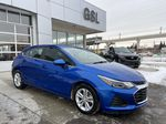 Blue[Kinetic Blue Metallic] 2019 Chevrolet Cruze LT True North Right Front Corner Photo in Calgary AB