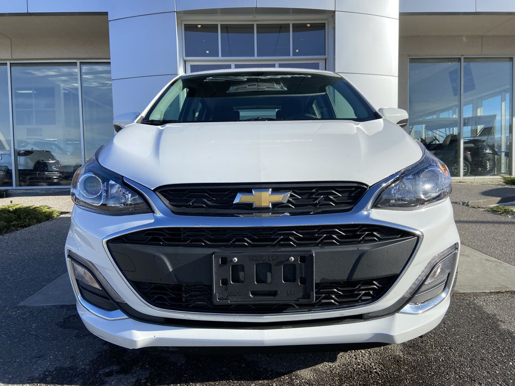 White[Summit White] 2019 Chevrolet Spark 1LT Front Vehicle Photo in Calgary AB
