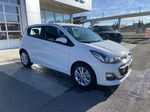 White[Summit White] 2019 Chevrolet Spark 1LT Right Front Corner Photo in Calgary AB