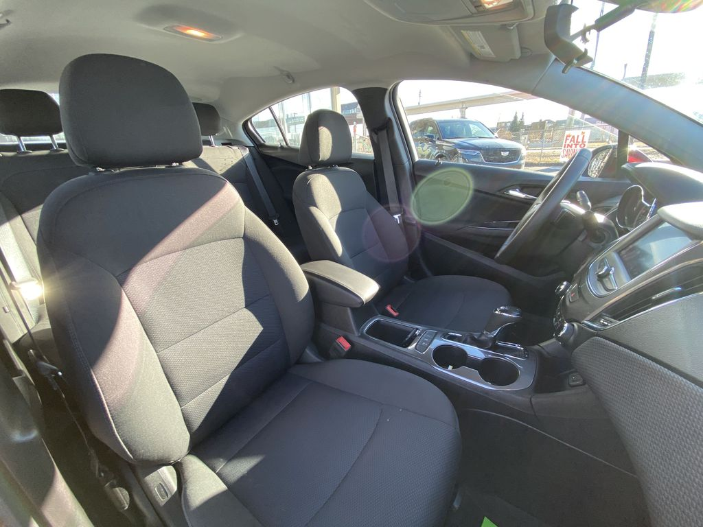 Red[Cajun Red Tintcoat] 2019 Chevrolet Cruze LT True North Right Side Photo in Calgary AB