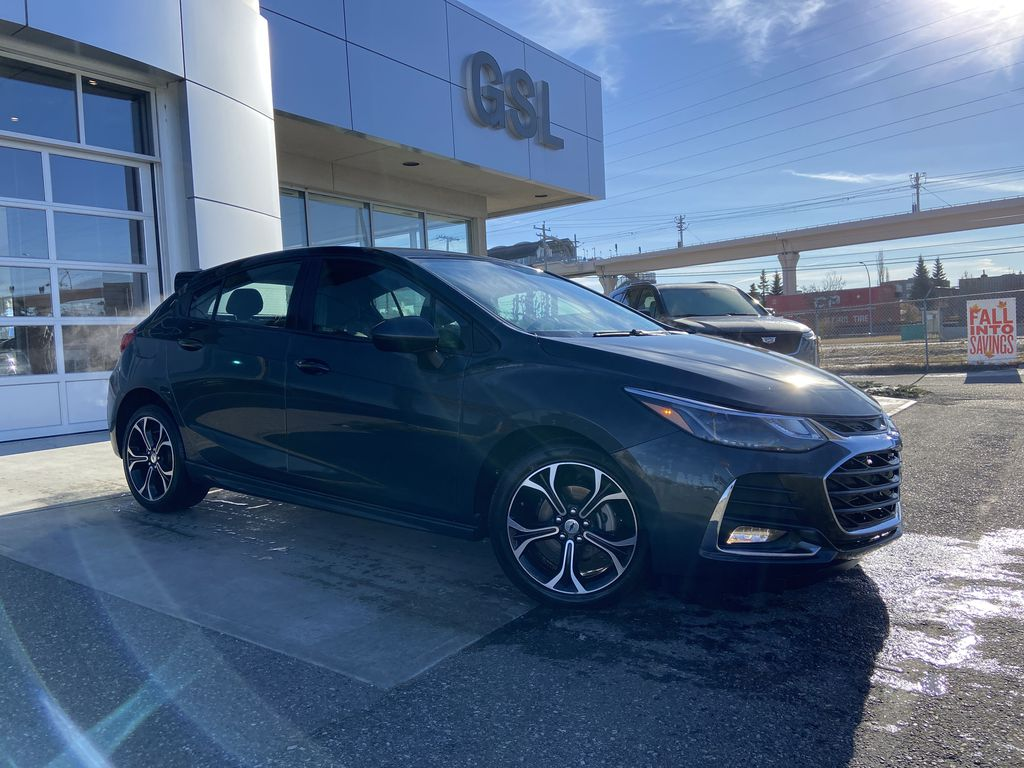 Gray[Nightfall Grey Metallic] 2019 Chevrolet Cruze LT Hatchback