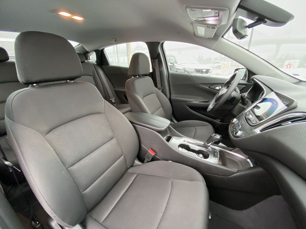 Red[Cajun Red Tintcoat] 2019 Chevrolet Malibu LT Right Side Front Seat  Photo in Calgary AB