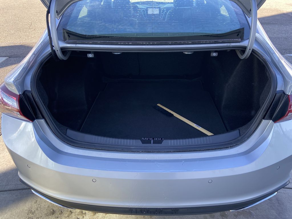 Silver[Silver Ice Metallic] 2020 Chevrolet Malibu Premier Trunk / Cargo Area Photo in Calgary AB