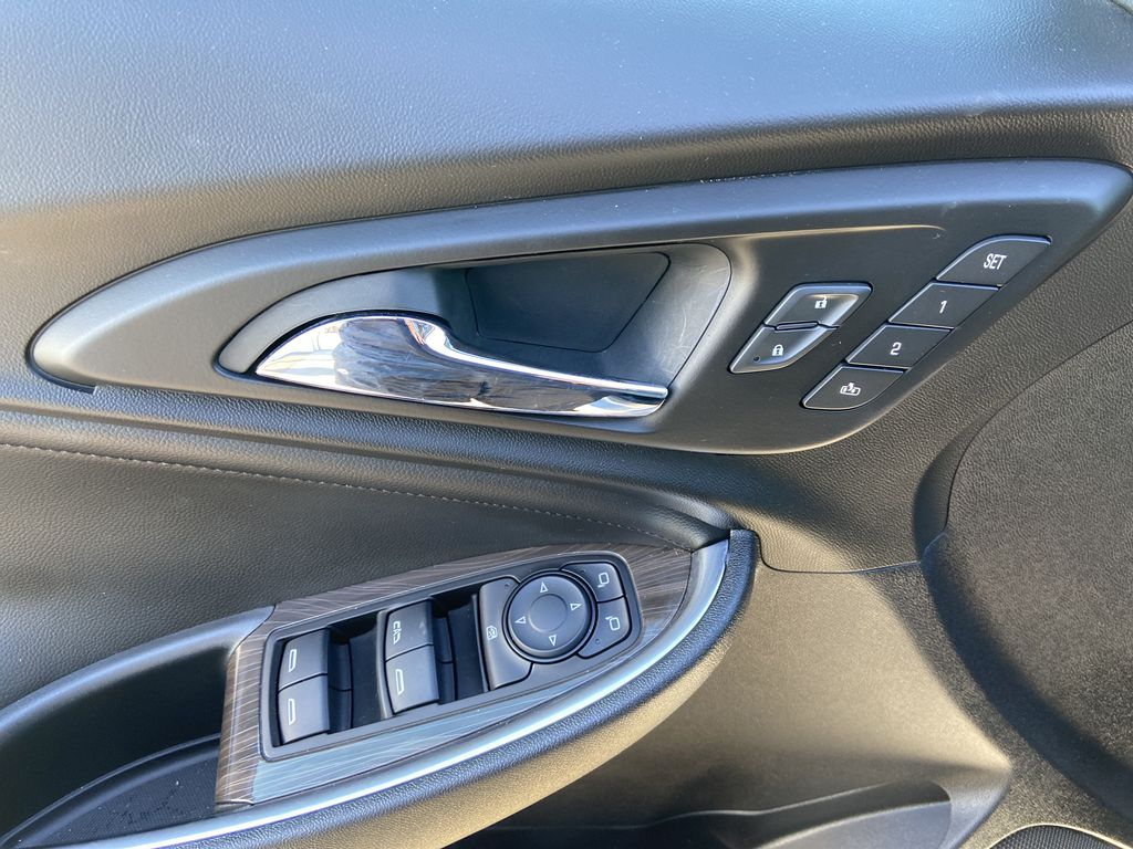 Silver[Silver Ice Metallic] 2020 Chevrolet Malibu Premier  Driver's Side Door Controls Photo in Calgary AB