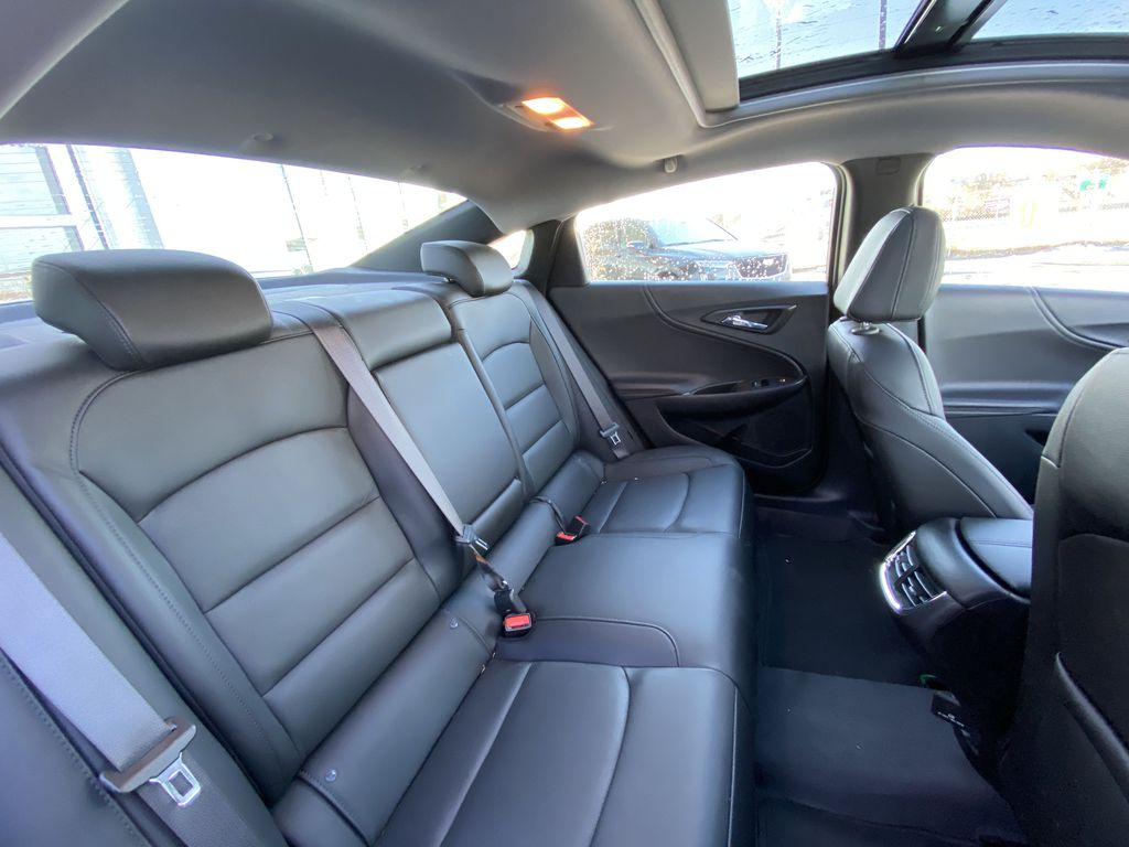 Silver[Silver Ice Metallic] 2020 Chevrolet Malibu Premier Passenger Rear Door Controls Photo in Calgary AB