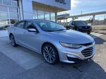 Silver[Silver Ice Metallic] 2020 Chevrolet Malibu Premier Right Side Photo in Calgary AB