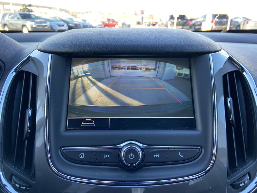 Gray[Satin Steel Grey Metallic] 2019 Chevrolet Cruze RS Package Backup Camera Closeup Photo in Calgary AB