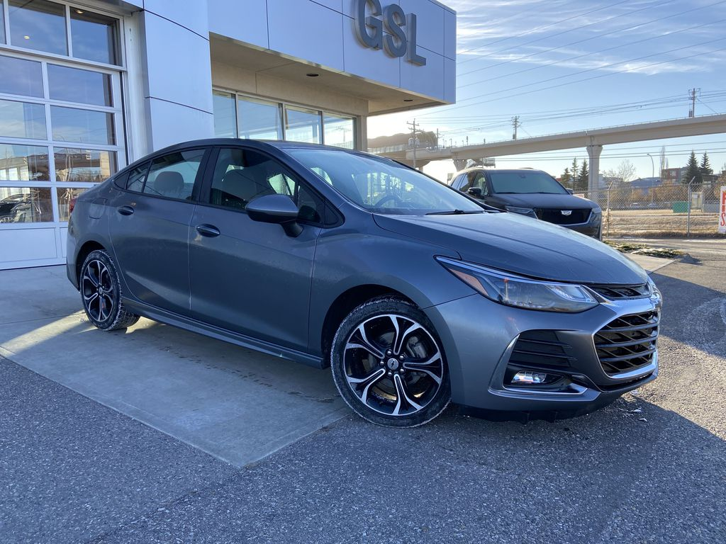 Gray[Satin Steel Grey Metallic] 2019 Chevrolet Cruze RS Package