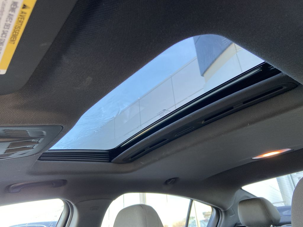 Gray[Satin Steel Grey Metallic] 2019 Chevrolet Cruze RS Package Sunroof Photo in Calgary AB