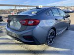 Gray[Satin Steel Grey Metallic] 2019 Chevrolet Cruze RS Package Right Rear Corner Photo in Calgary AB