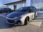 Gray[Satin Steel Grey Metallic] 2019 Chevrolet Cruze RS Package Left Front Head Light / Bumper and Grill in Calgary AB