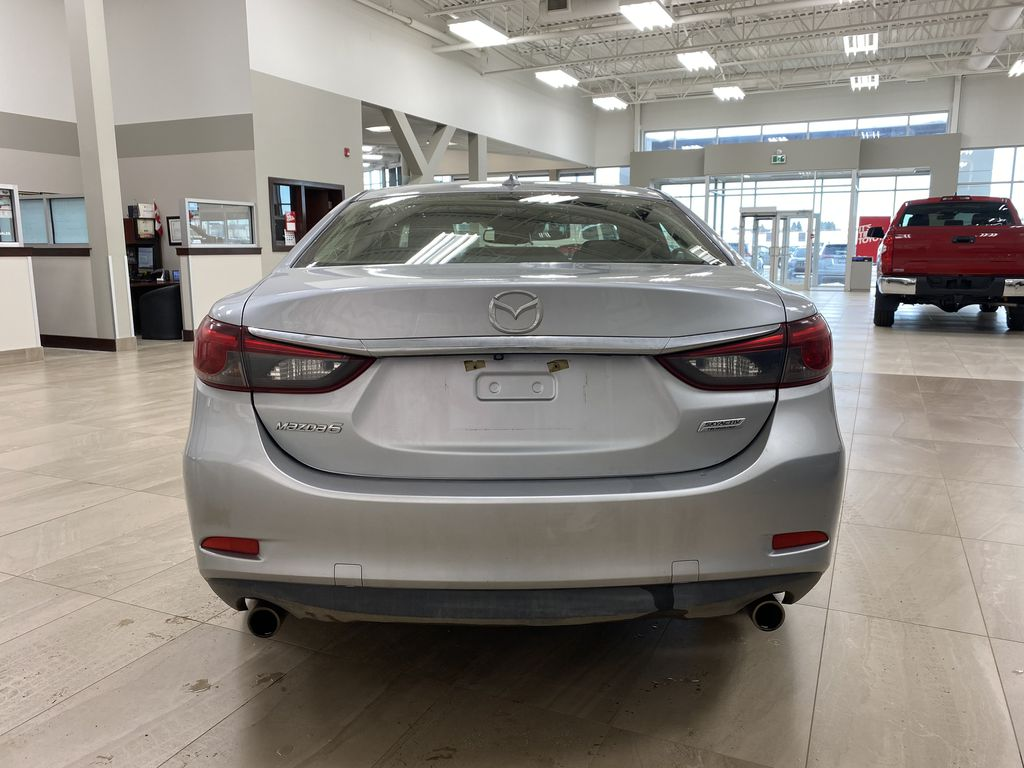 Silver[Sonic Silver Mica] 2016 Mazda Mazda6 GT Automatic Rear of Vehicle Photo in Sherwood Park AB
