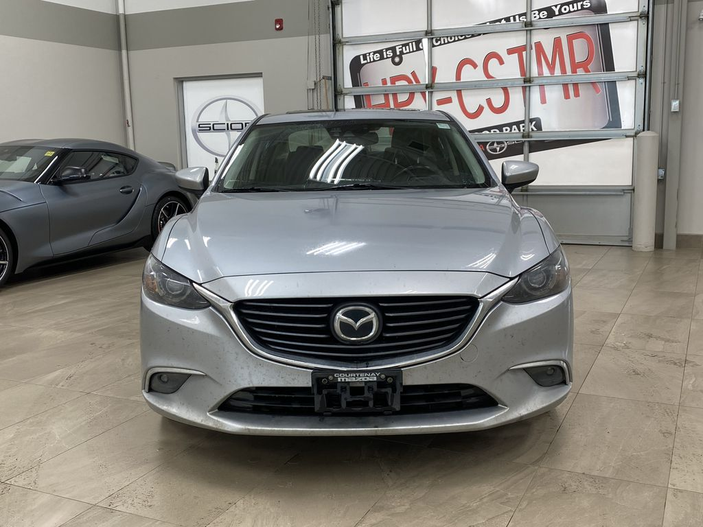 Silver[Sonic Silver Mica] 2016 Mazda Mazda6 GT Automatic Left Side Photo in Sherwood Park AB