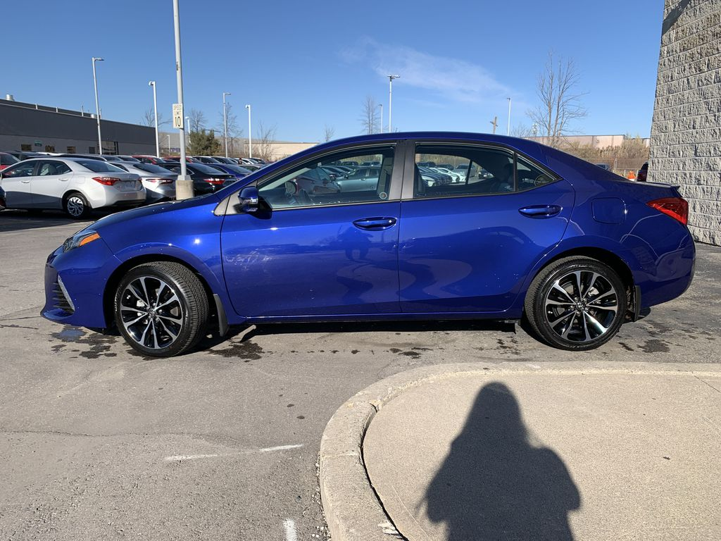 Blue 2019 Toyota Corolla Left Front Rim and Tire Photo in Brampton ON