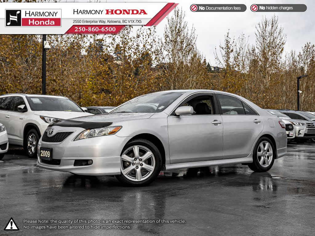 Silver 2009 Toyota Camry