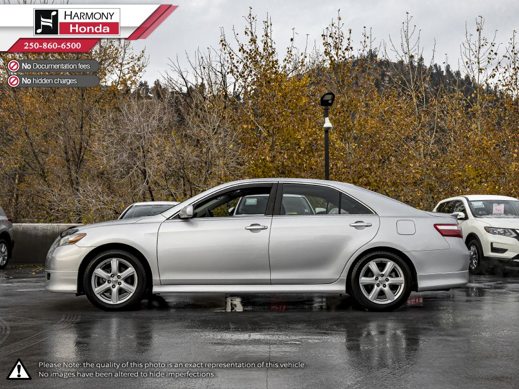 Silver 2009 Toyota Camry Odometer Photo in Kelowna BC