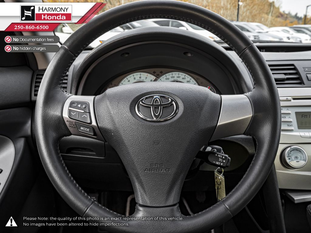 Silver 2009 Toyota Camry Right Side Front Seat  Photo in Kelowna BC