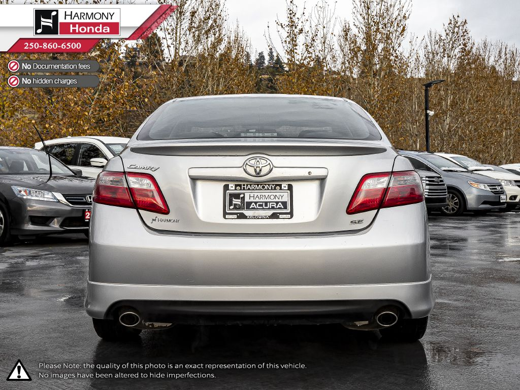 Silver 2009 Toyota Camry Left Side Photo in Kelowna BC