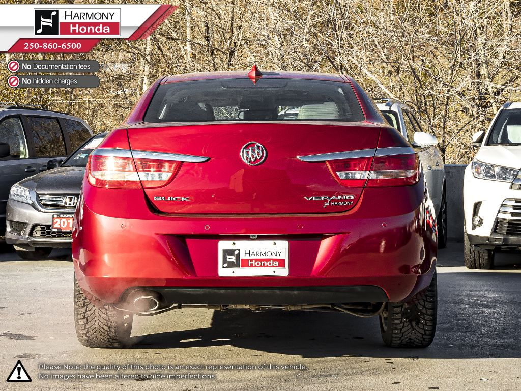 Red - Crystal Red Tintcoat 2015 Buick Verano Left Side Photo in Kelowna BC