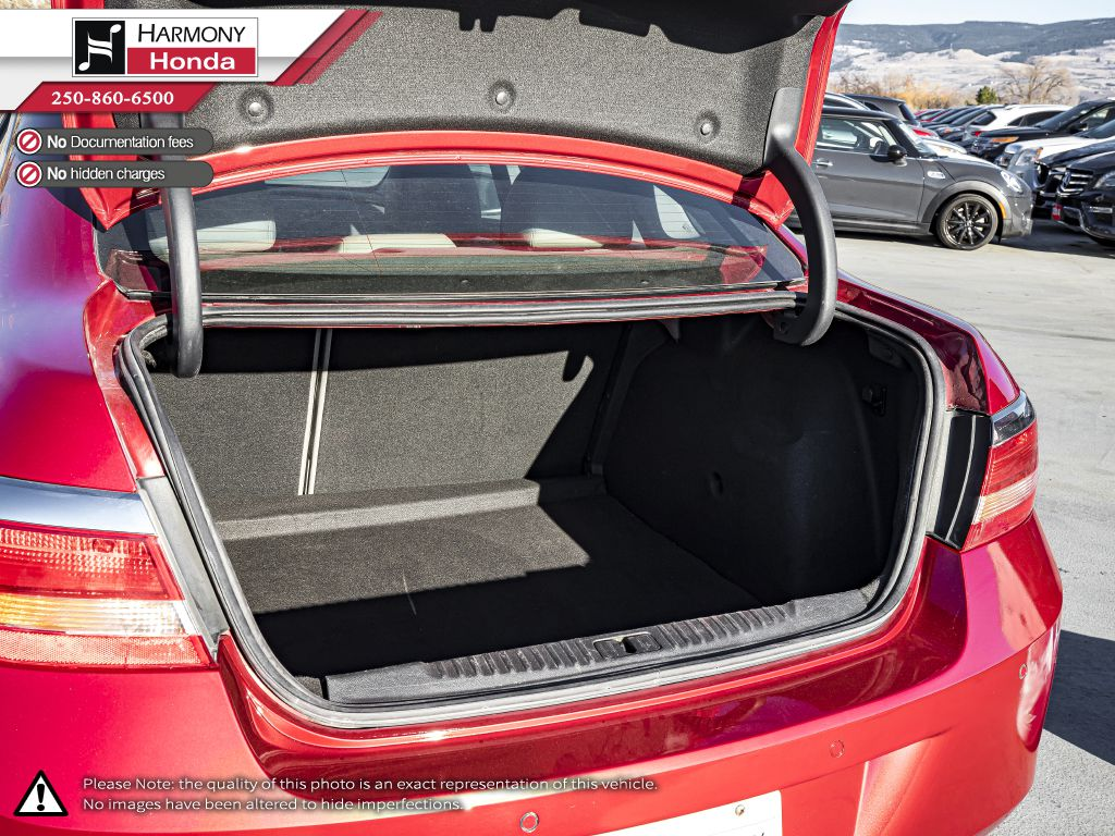 Red - Crystal Red Tintcoat 2015 Buick Verano Fourth Row  Seat  Photo in Kelowna BC