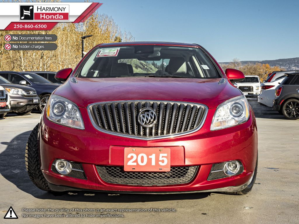 Red - Crystal Red Tintcoat 2015 Buick Verano Left Front Interior Photo in Kelowna BC