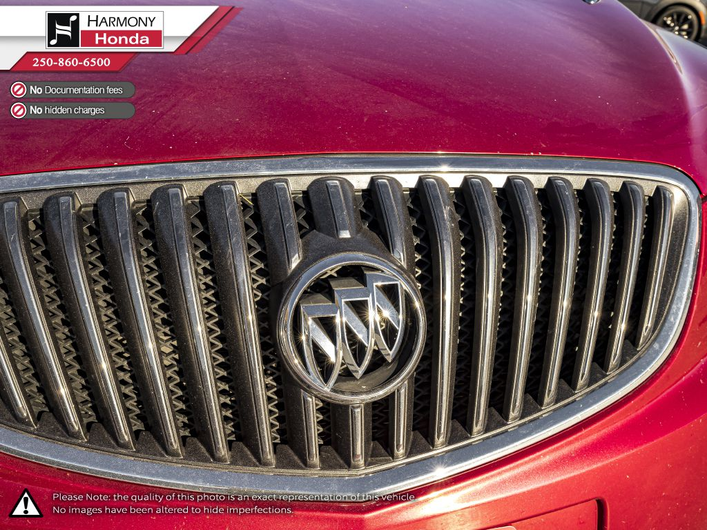 Red - Crystal Red Tintcoat 2015 Buick Verano Rear of Vehicle Photo in Kelowna BC