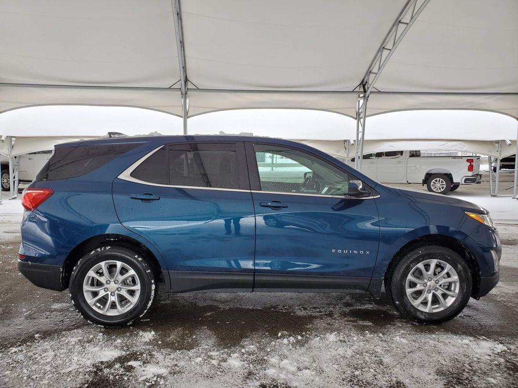 Blue 2021 Chevrolet Equinox Trunk / Cargo Area Photo in Airdrie AB