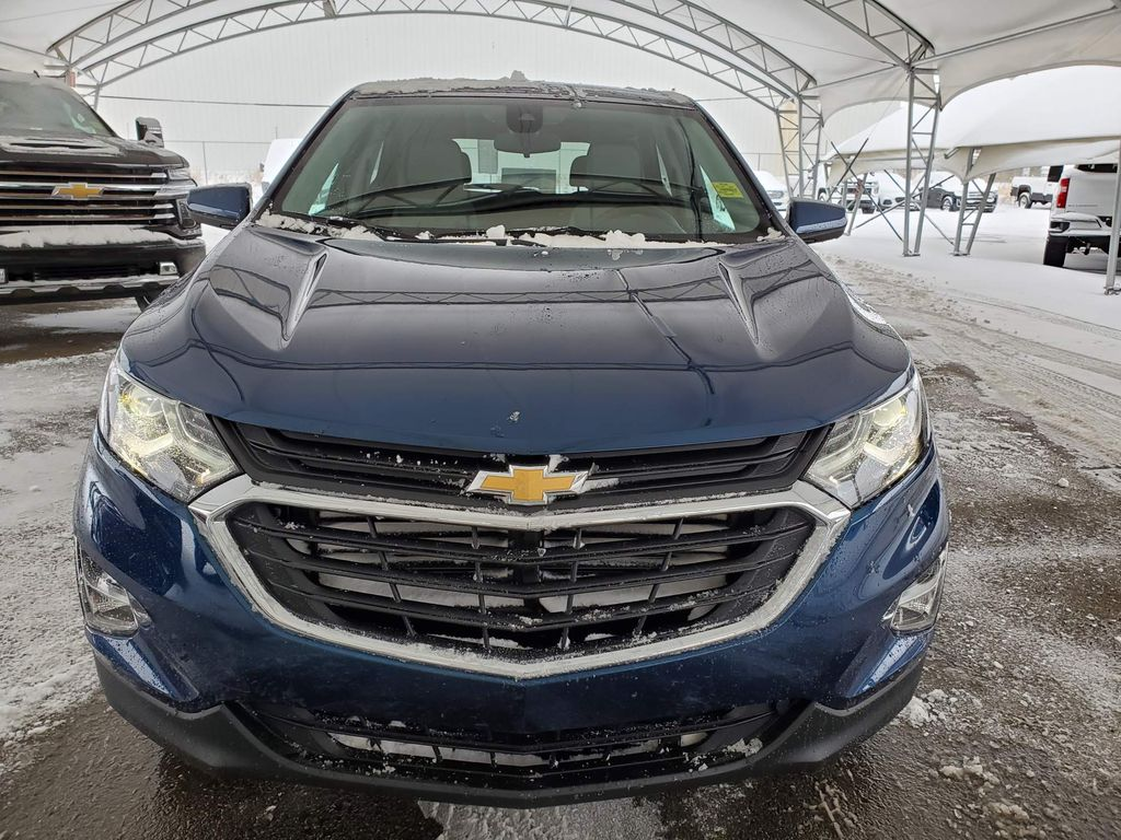 Blue 2021 Chevrolet Equinox Left Front Corner Photo in Airdrie AB