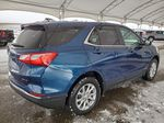 Blue 2021 Chevrolet Equinox Rear of Vehicle Photo in Airdrie AB