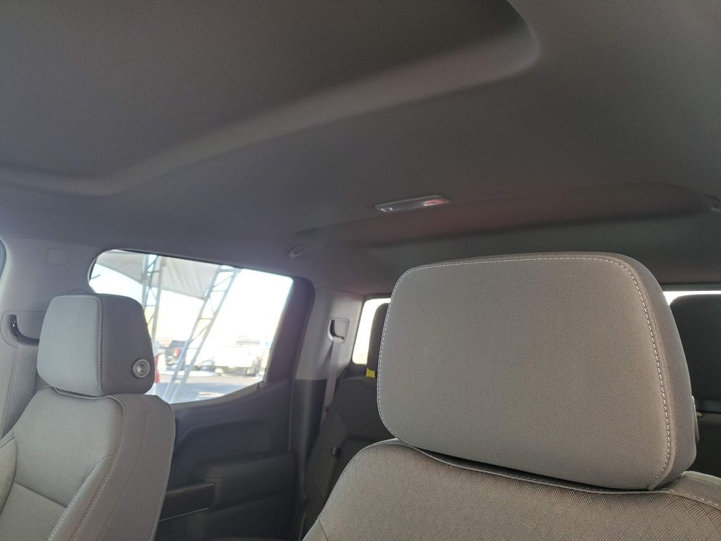 Red 2021 Chevrolet Silverado 1500 Driver's Side Door Controls Photo in Airdrie AB