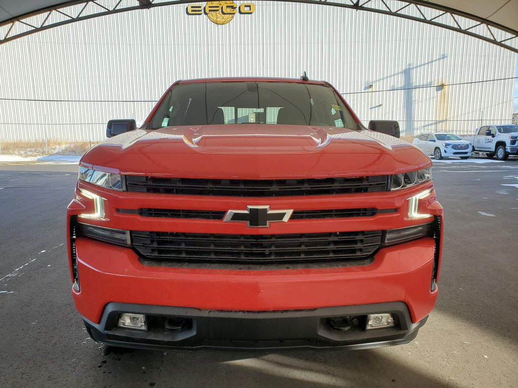 Red 2021 Chevrolet Silverado 1500 Left Front Corner Photo in Airdrie AB