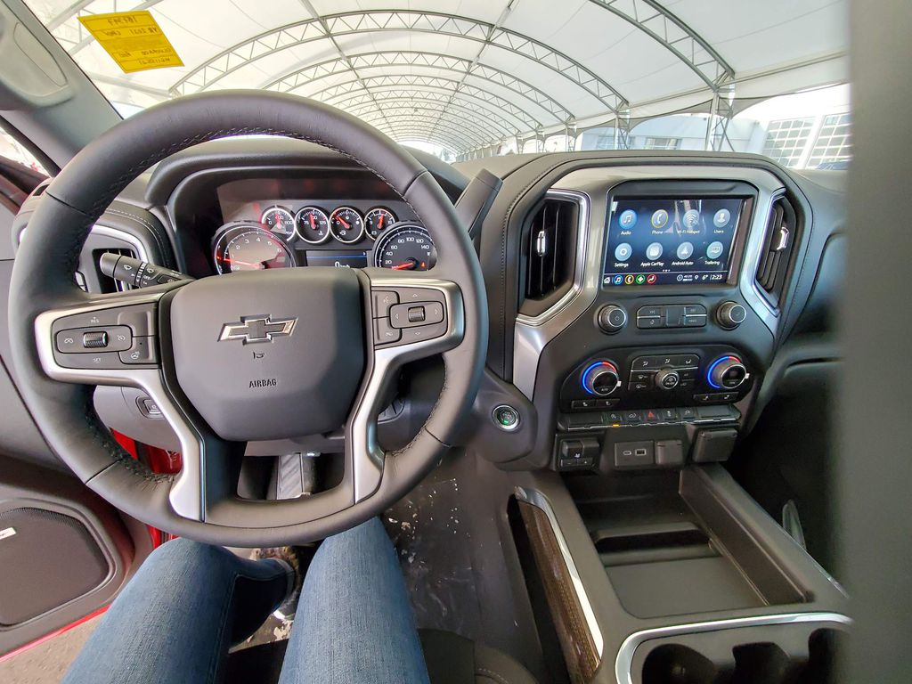 Red 2021 Chevrolet Silverado 1500 Left Side Photo in Airdrie AB